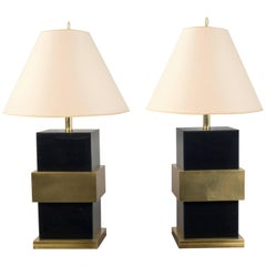 Pair of Table Lamps, Italy, 2017