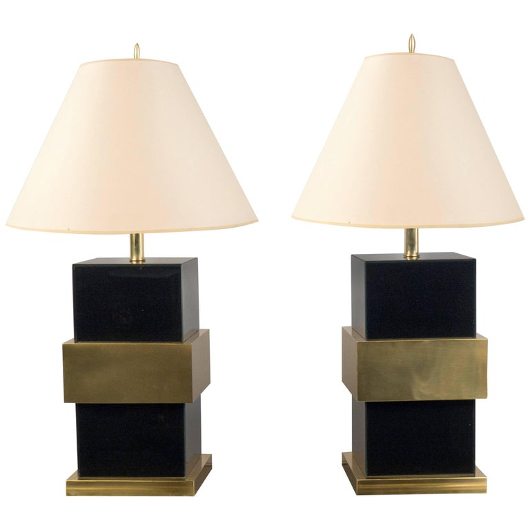 Pair of Table Lamps, Italy, 2017 For Sale