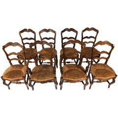 French Country Dining Chairs, circa 1890