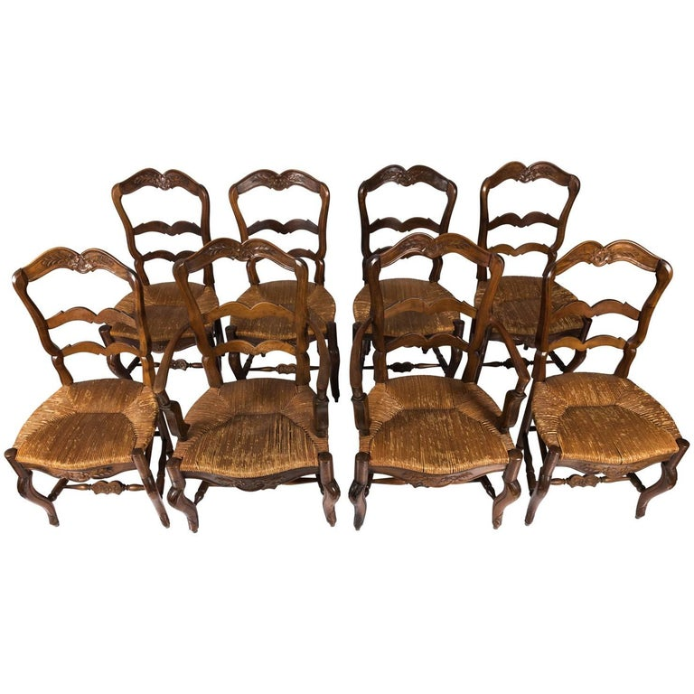 French Country Dining Room Furniture: French Country Dining Chairs, Circa 1890 For Sale At 1stdibs