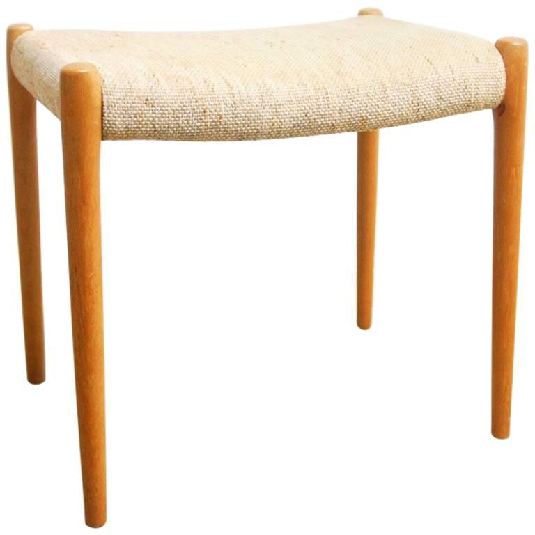 Midcentury Danish Modern Footstool