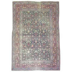 Shabby Chic Persian Meshed Rug