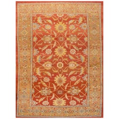 Large 21st Century Red Sultanabad Carpet