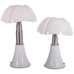 """Pipistrello"" Table Lamps by Gae Aulenti for Martinelli Luce"