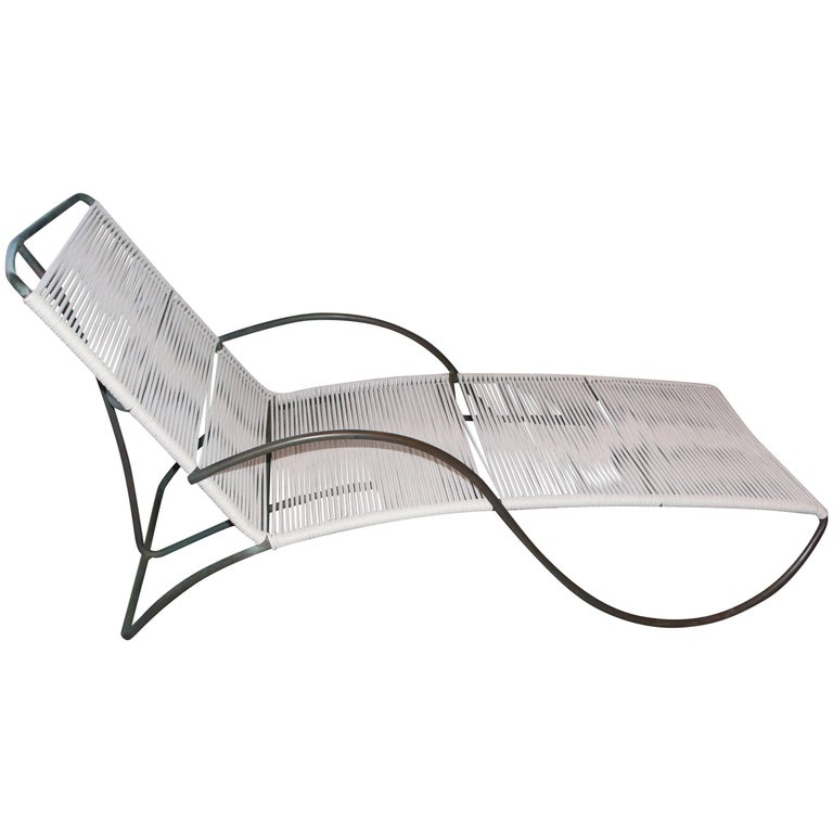 Walter Lamb for Brown Jordan S Lounge Chair For Sale
