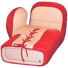 Lounge Chair by De Sede Model Boxing Glove Lounge Chair DS2878