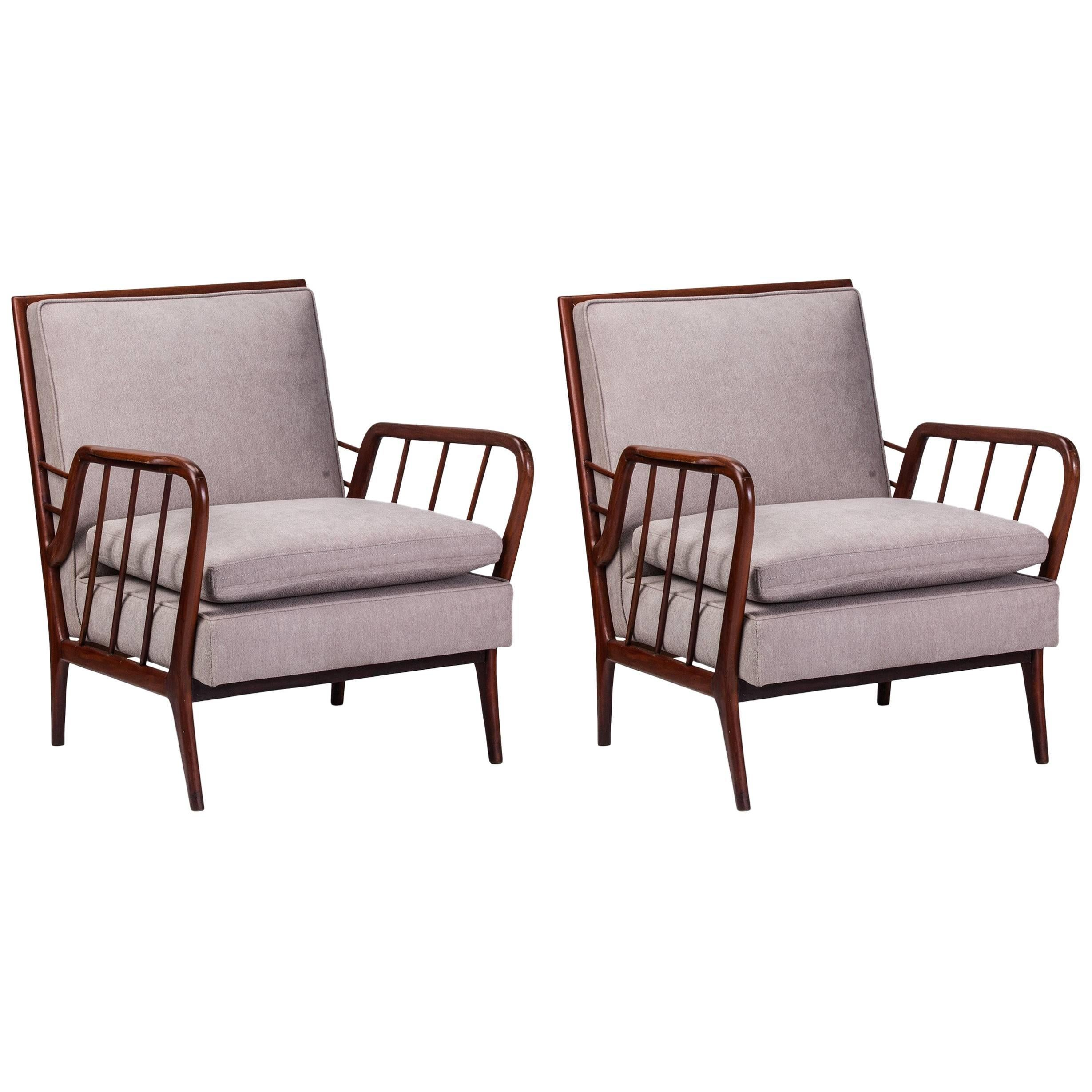 1950s Pair of Armchairs