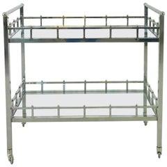 Bauhaus Bar Cart