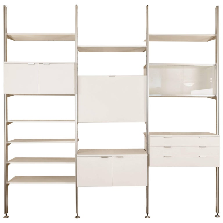 1970s CSS Modular Wall Unit by George Nelson for Herman Miller