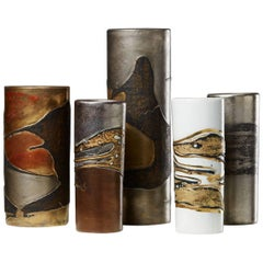 Vase Group Designed by Toini Muona for Arabia, Finland, 1960s