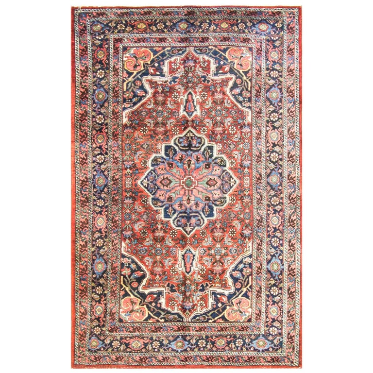 Amazing Persian Bijar Rug For Sale At 1stdibs
