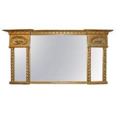 Regency Period Overmantel Mirror