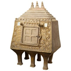 Important Pyramid-Shaped Pantry, Afghanistan, 18th Century