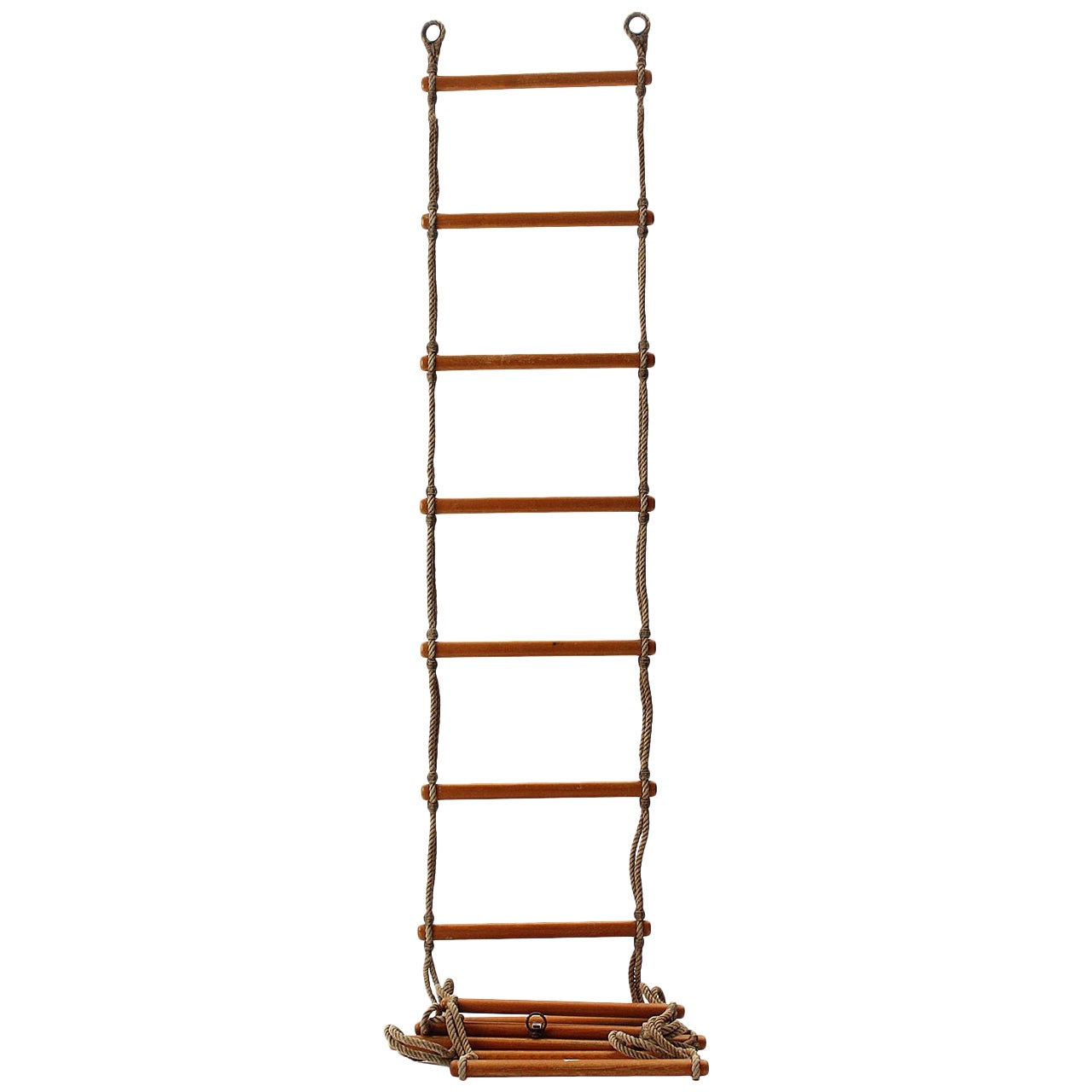 Rope and Rung Ladder