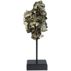Pyrite and Quartz Crystals