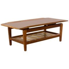 1960s Large and Firm Danish Design Coffee Table
