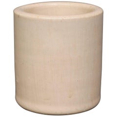 Small Ceramic Jar/Vase with a White Glaze, No.: 78 by Saxbo