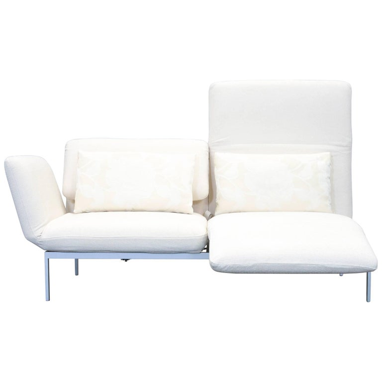 br hl and sippold moule designer sofa fabric beige function couch modern for sale at 1stdibs. Black Bedroom Furniture Sets. Home Design Ideas
