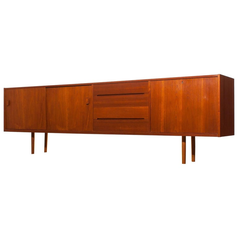 1960s, Teak Sideboard 'Grand' by Nils Johnson for Troeds Sweden For Sale