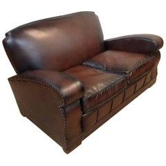 Retro/Vintage Leather Sofa