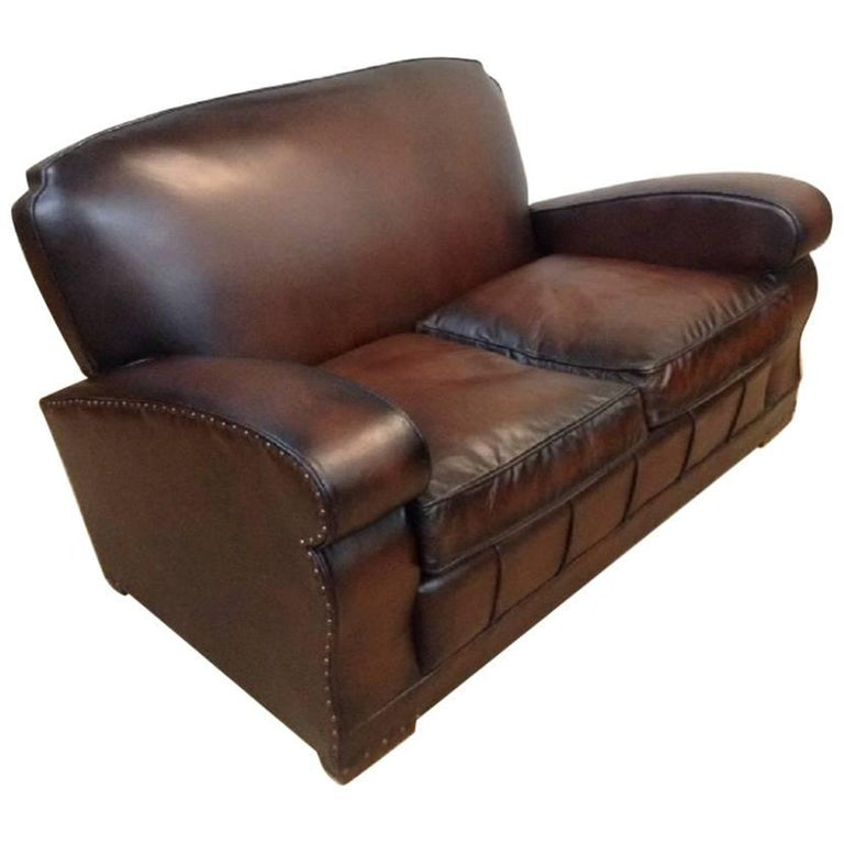 Retro Vintage Leather Sofa For Sale At 1stdibs
