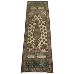 Moorish Paisley Woodblock Printed Textile Wall Hanging