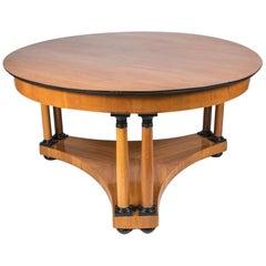 Round Biedermeier Centre Table