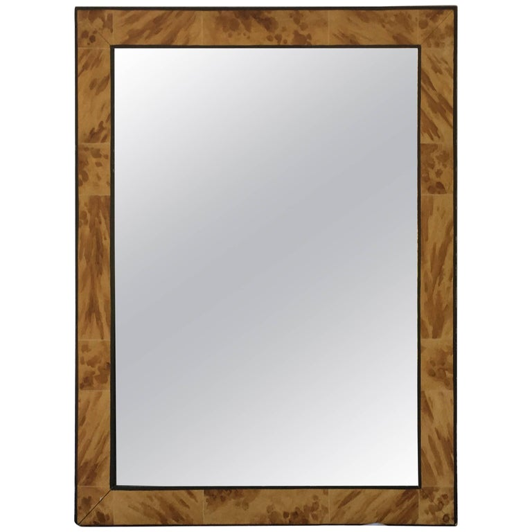 What Paint To Use To Make Framed Mirror More Modern