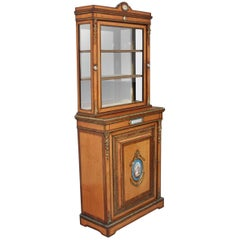 Fantastic Quality 19th Century Satinwood and Rosewood Cabinet