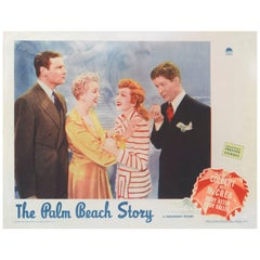 """The Palm Beach Story"" Original US Lobby Card"
