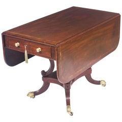 19th Century Regency George III Pembroke Table Gillows