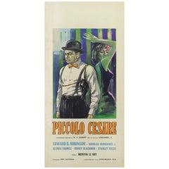 """Little Ceasar / Piccolo Cesare"" Original Italian Movie Poster"