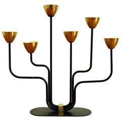 Candelabra by Gunnar Ander for Ystad Metall