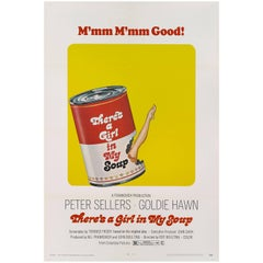 """There's a Girl in My Soup"" Original US Movie Poster"