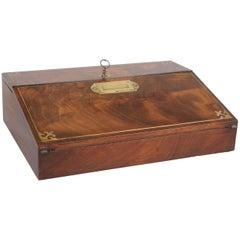 William IV Period Mahogany Lap-Desk