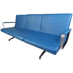 1970s Chromcraft Three-Seat Floating Sofa