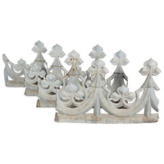 18th Century French Zinc Roof Decoration