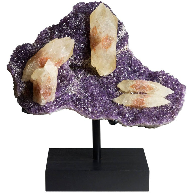 Calcite, Quartz and Amethyst Crystals For Sale