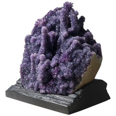 Large Cluster of Amethyst Stalactites