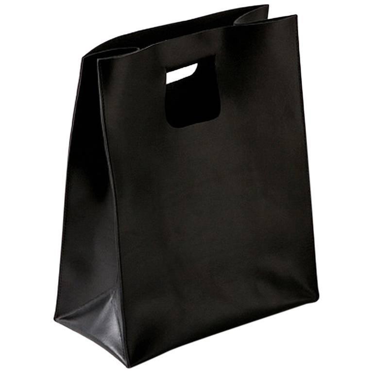 """Carol"" Leather Bag Designed by Claude Bouchard for Oscar Maschera"
