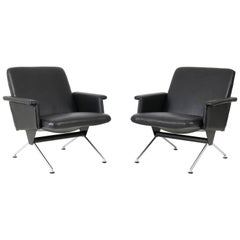 Mid-Century Modern No.1432 Lounge Chairs by Andre Cordemeijer for Gispen, 1961