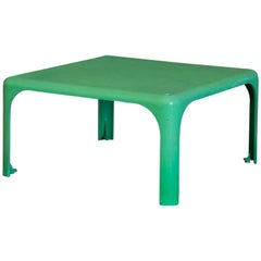 1964, Vico Magistretti for Artemide, Apple Green Demetrio 45 Stackable Tables