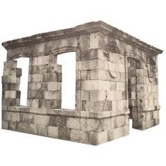 Stone Castle Entrance Pavilion, 18th Century