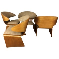 Hans Olsen Bikini Lounge Chair Set of Four