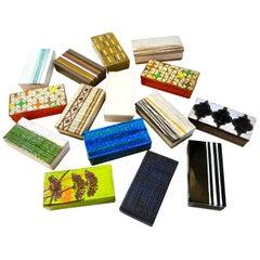 Aldo Londi Bitossi Collection of Ceramic Boxes