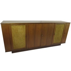 Edward Wormley for Dunbar Walnut Buffet