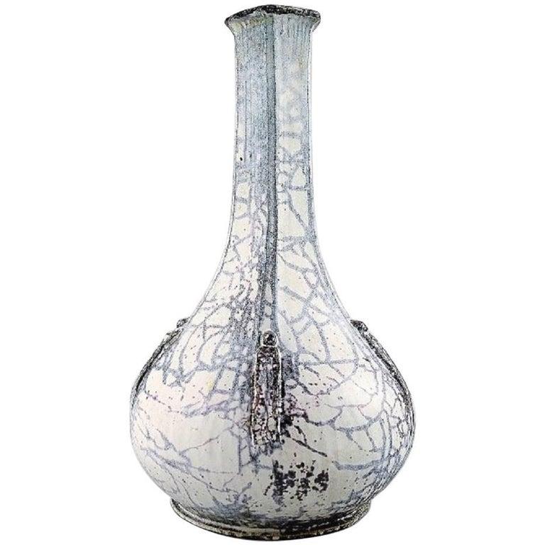 k hler denmark glazed vase 1930s designed by svend hammersh i for sale at 1stdibs. Black Bedroom Furniture Sets. Home Design Ideas