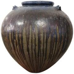 Burmese Stoneware Water Jar