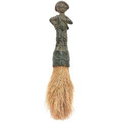 19th Century Decorative German Verdigris Brush
