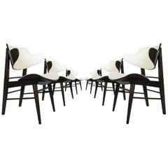 Seymour J. Wiener Lounge Chairs for Kodawood, Set of Six